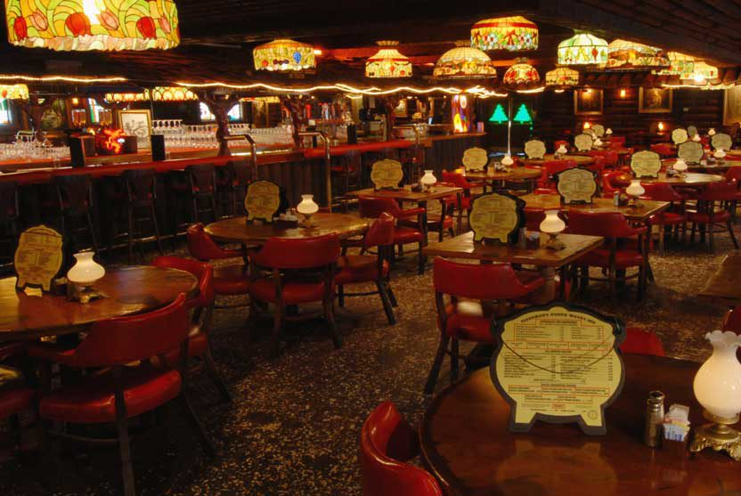 San Gabriel Restaurant bar view
